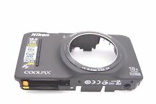 NIKON COOLPIX S9300 FRONT COVER + MAINBOARD + FLASH BOARD PCB REPAIR PART BLACK