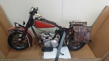 INDIAN CHIEF MOTORBIKE REPLICA METAL MANSHED NEW IN BOX