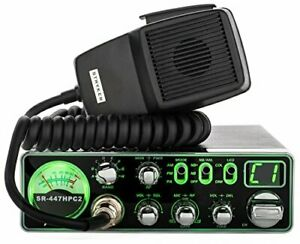 STRYKER SR447HPC2 55 WATT AM/FM COMPACT 10 METER RADIO WITH 3 COLOR FACE,