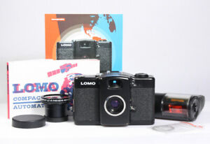LOMO LC-A+ mit Minitar 2.8/32mm, Dichtungen neu, mit 1 Jahr Gewährleistung