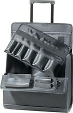 Friseur Koffer Werkzeugkoffer Stoff Kosmetik Comair Trolley auf Rollen