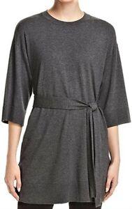 Eileen Fisher Cozy Stretch Tunic/Dress with belt Sz- XL Gray