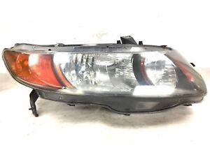 06-07 Civic 2Dr Si 2.0L Right Headlight Main Lamp Light Unit Beam Lens Used OEM