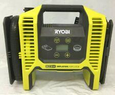 Ryobi P747 One+ 18v Dual Function Inflator/Deflator Cordless AirCompressor, L.N