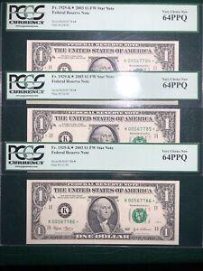 #5 2003 $1.00 FRN K00567784*-88* STARS 64Q