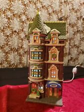 """Dept 56:Heritage Village-Christmas in the City """"5607 Park Avenue Townhouse"""""""