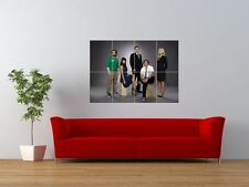 CHUCK CAST TELEVISION SHOW SERIES TV GIANT ART PRINT PANEL POSTER NOR0209