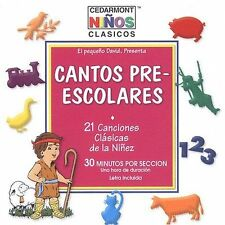 Cantos Pre-escolares - Twenty One Canciones Clasicas De La Niñez Music CD  CD-R