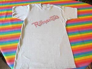 THE ROMANTICS 1983 CONCERT TEE SHIRT NEW WAVE IN HEAT TOUR SCREEN STARS TAG