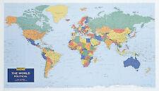 Mapas De Pared De Philip: World (digital) (Mapa de pared) por