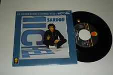 "MICHAEL SARDOU - Victoria - 1981 French 2-track 7"""