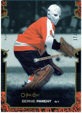 Bernie Parent 2007-08 OPC O-Pee-Chee Premier Card Gold Parallel 17/75 D698