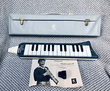 More details for vintage hohner 1950s-60s piano 26 melodica with case made in germany 3 uk post