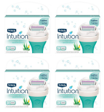 Schick Intuition Sensitive Care With Aloe & Vitamin E, 12 Cartridges