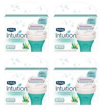 Schick Intuition Sensitive уход с алоэ и витамином Е, 12 картриджей