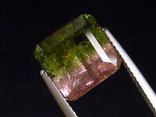 Turmalina dos colores/Tourmaline bicolor 6,12 CT. rojo & verde chocarán (2484m)
