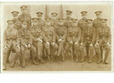 RP Military Postcard - King's Shropshire Light Infantry. Unidentified Location.