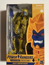 Kerrigan Mahan Signed Goldar Power Rangers Lightning collection Figure Autograph