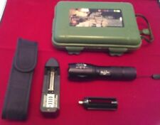 Mini Adjustable Flashlight with Case Rechargeable/3 AAA Battery New
