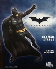 BATMAN DARK KNIGHT STATUE  Limited Edition  Christian Bale  DC Direct  NIB OOP