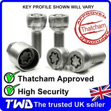 4x HIGH SECURITY ALLOY WHEEL LOCKING BOLTS FOR VW TRANSPORTER T4 T5 T6 NUT [WXe]