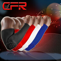 Honeycomb Elbow Support Pad Arm Compression Sleeve Crashproof Basketball Protect
