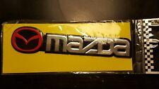 Mazda Emblem Aluminum  RX8 RX7 Miata NA NB NC ND Mazdaspeed CX5 CX7 MX5