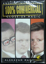 Andrew Normansell 100% Commercial #3: Close-Up Magic :: NEW DVD