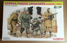 DRAGON 6305 - 1/35 - GERMAN PANZER GRENADIERS KHARKOV 1943 - NUOVO