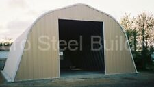 Durospan Steel 40x24x18 Metal Building Diy Home Kits Open Ends Factory Direct