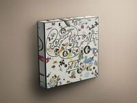 "Led Zeppelin ""Led Zeppelin III"" Cover Art Canvas Art Print #002251"