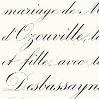 Louise D'Ozouville-Tremignon La Roche Pichemer 1884 Desbassayns De Richemont