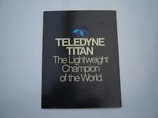 TELEDYNE TITAN FOLDER - MID 70's
