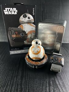 Sphero BB-8 Battle Worn BB8 Force Band Watch Metal Box Collector Special Edition