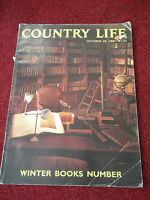 Country Life. Magazine. WINTER BOOKS NUMBER. 1987