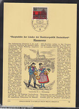 """D 99 ) herrlicher Privat ETB """" Haupstädte der BRD Hannover  """"  Erich Braun 1964"""
