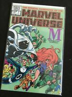 The Official Handbook of the Marvel Universe #7 M July 1983