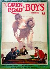 The Open Road for Boys, October 1938, Football - FULL MAGAZINE