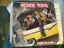 MINT/M- ORIG METAL PUNK Promo LP~NOIZE TOYS~FALLIN IN LUST~With FLYER~1988