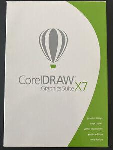 CorelDRAW Graphics Suite X7, Windows Compatible, Model CDGSX7ENMBC, Sealed Box