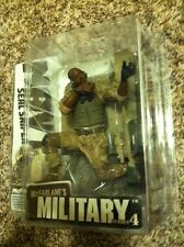 McFarlane's Military Series 4 NAVY Seal Sniper African American Figure MISP!