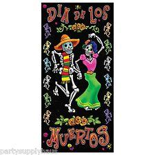 DIA DE LOS MUERTOS Day of the Dead DOOR COVER Party Decoration PHOTO BOOTH PROP