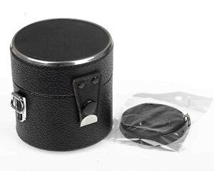 Retro or Vintage Hard Storage Carry Lens Case 70s 80s Unbranded Japan ~70 x 65mm