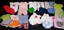 HUGE SUMMER OUTFITS LOT Mostly ~GYMBOREE~: BODYSUITS TUTU SKIRTS TOPS Girl 3-6 M