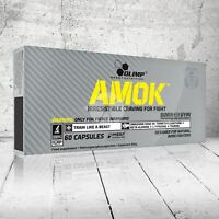 OLIMP AMOK PRE WORKOUT POWER CAPS ENERGY BOOSTER EXTREME ANABOLIC