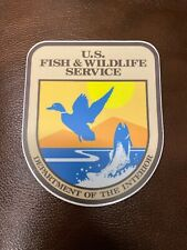 US Fish and Wildlife Service sticker decal Car Truck Trailer Tablet 4 X4.8 matte