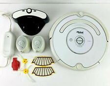 iRobot Roomba Vacuum Cleaner 500 Series w/ New Battery, Charger, 2 Virtual Wall