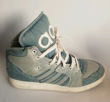ab745e34fff92 Adidas Jeremy Scott Instinct Hi Denim Men s Shoes Size 12