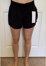 "Lululemon Size 8 Tracker LR Short 4"" Lined Black BLK Swift Speed Run Yoga"