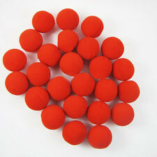 25Pcs Popular Red Foam Circus Clown Nose Comic Halloween Costume Magic Dress
